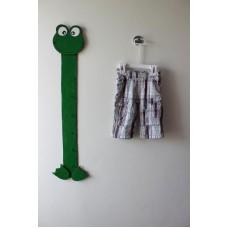 Kostkované kalhoty plátěné