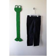 Jednobarevné plátěné kalhoty