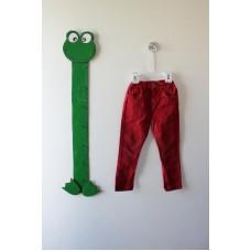 Jednobarevné kalhoty