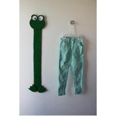 Barevné elastické kalhoty