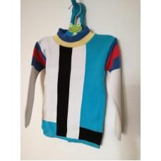 Úpletový retro svetr, úpletový