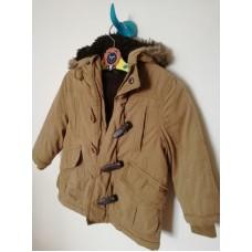 Zimní kabát béžový