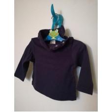 Mikina, rolák tmavě modrý