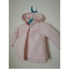 Růžový kabátek, bunda s kapucí