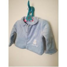 Mikina, kabátek modrá s límečkem