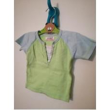 Zelené triko s krátkým rukávem