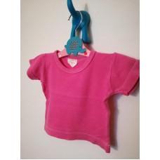 Bavlněné růžové triko
