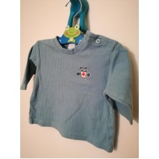 Modré triko, mikina s dlouhým rukávem