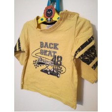 Žluté triko s dlouhým rukávem