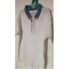 Bílá tričko-košile