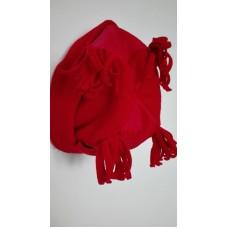 Čepice červená obv.53-54, vel.6-9 let