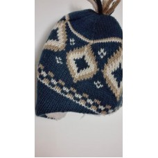 Čepice zimní pletená, obv.49, vel.6-12 měsíců