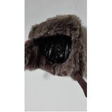Ušanka s kožíškem obv.51cm 3-6 let