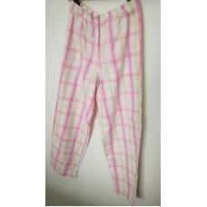 Světlé slabounké plátěné kalhoty