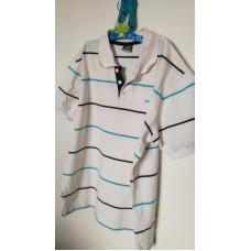 Bílá sportovní tričko-košile