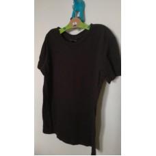 Tričko černé bavlněné