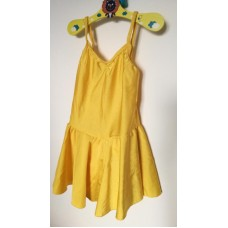 Žluté plavky se sukýnkou vel 116