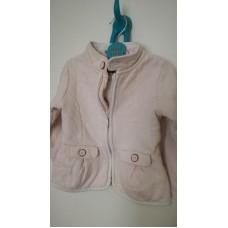 růžový dívčí kabátek