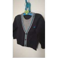 Tmavě modrý svetr George