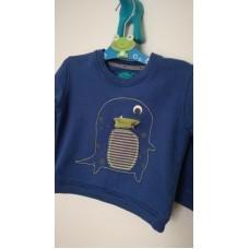Modrá mikina s tučňákem M&S
