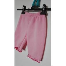 Kalhoty dívčí fleecové