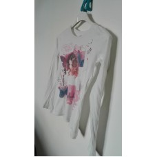 Tričko bavlněné s dlouhým rukávem