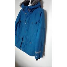 Modrá zimní bunda 158