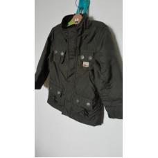 Zelená šusťáková bunda