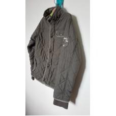 Prošívaná šedá bunda