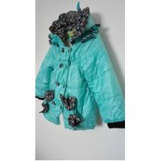 Zimní bunda s mašlí
