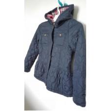 Tmavě modrá zimní bunda