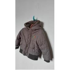 Tmavěkrémová zimní bunda