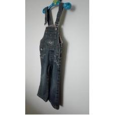 Kalhoty riflové se kšandami