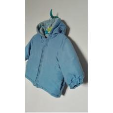 Světle modrá bunda
