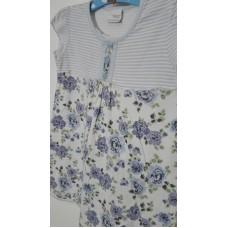 Šaty bavlněné s krátkým rukávem (1,5-2r.)