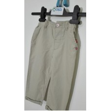 Kalhoty plátěné dívčí (9-12měs.)
