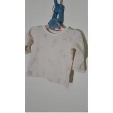 Tričko bavlněné (3-6měs.)