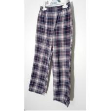 Kalhoty kostkované (8-10r.)