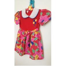 Letní šaty plátěné (4-5r.)