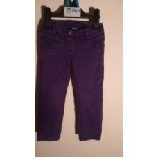 Dívčí zatepl.kalhoty (18-24m.)