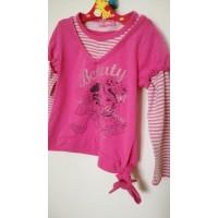 Tričko dívčí vel.98-110