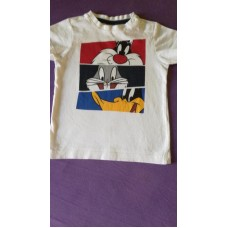 Tričko bílé zn.C&A,vel.92