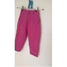 Oteplovací kalhoty vel.92