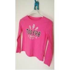 Růžové tričko vel.146-152