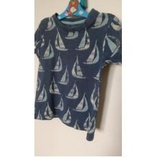 Tričko s lodičkami (vel.98)