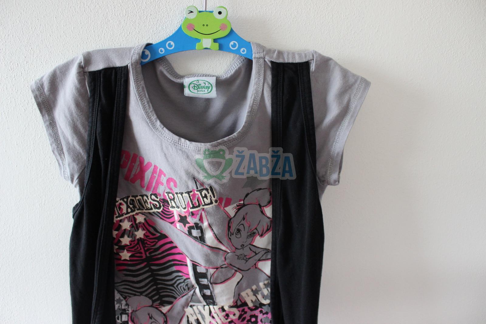 Holčičí triko s vestou