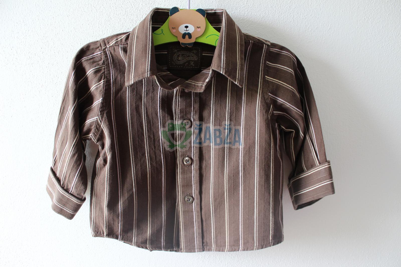 Klučičí košile s proužky