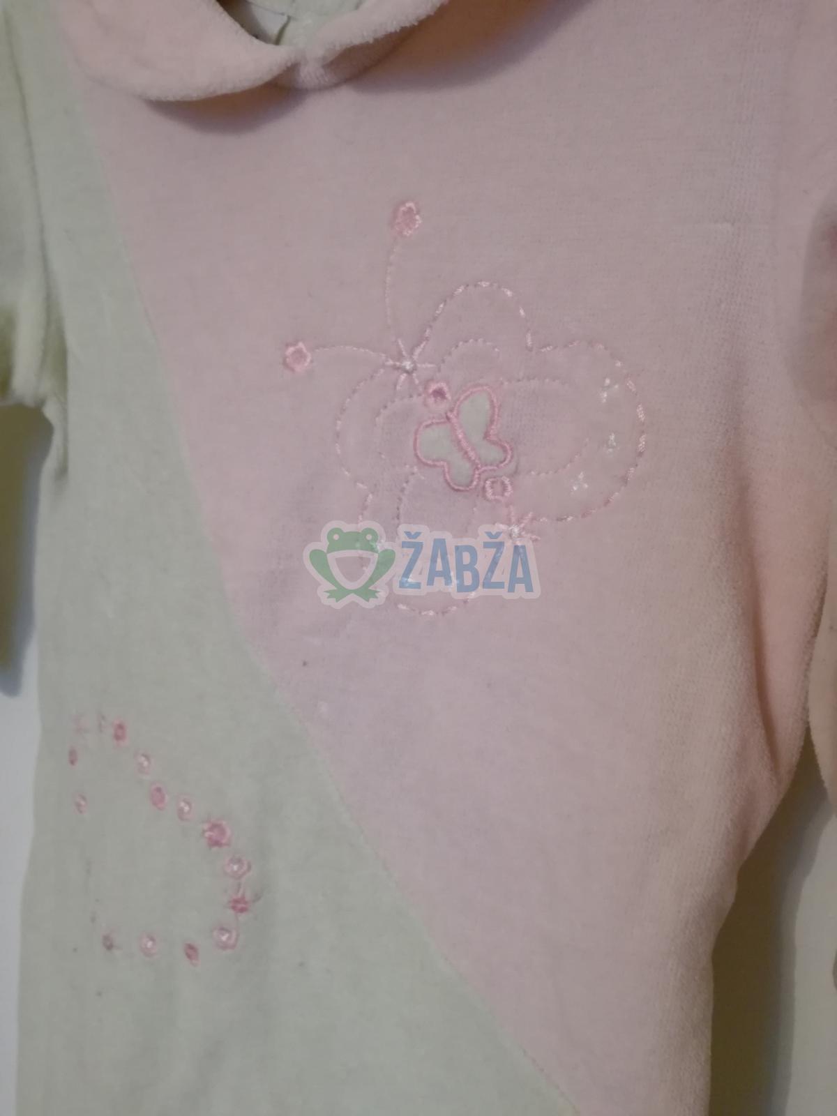 Růžovo-khaki overal
