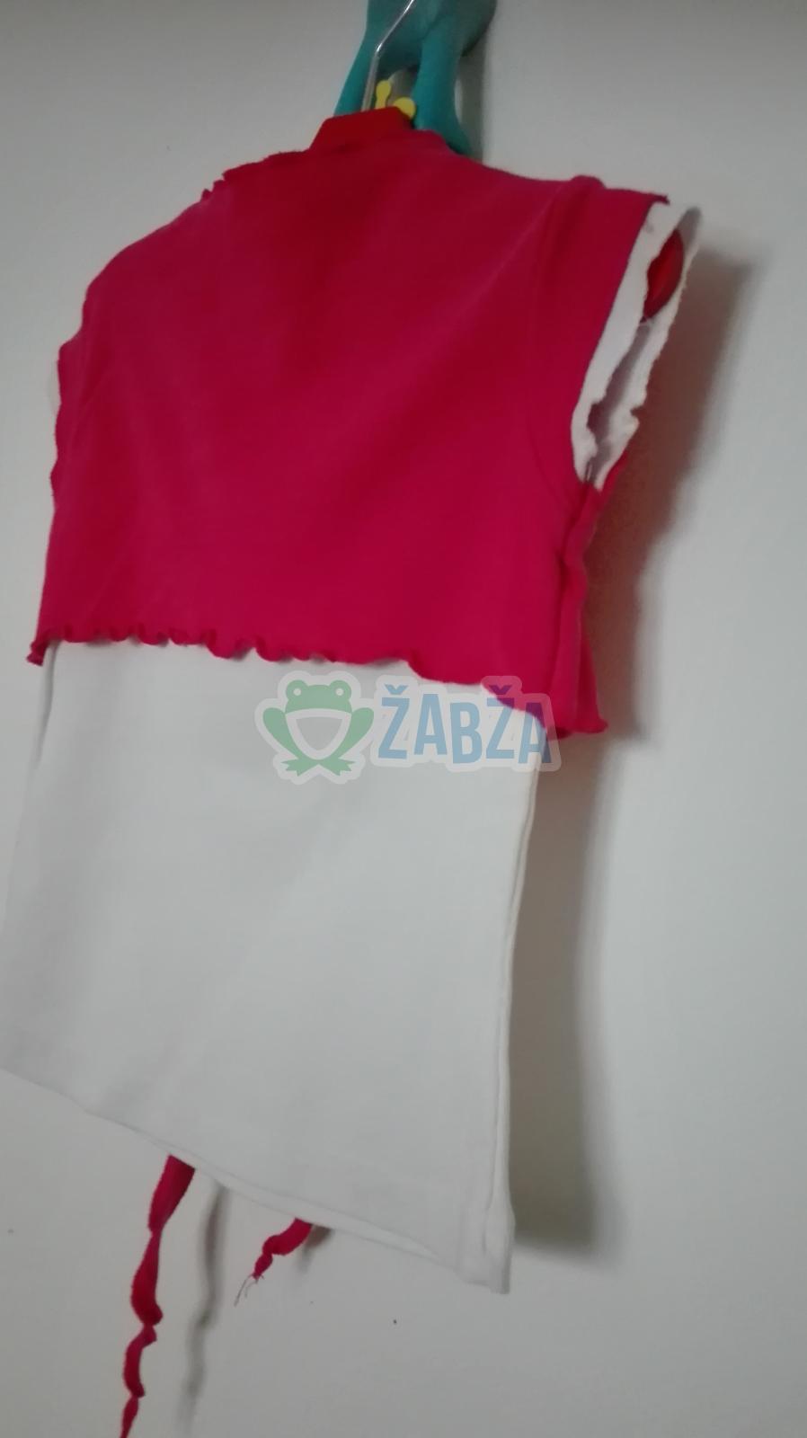 Tričko 2v1 bavlněné