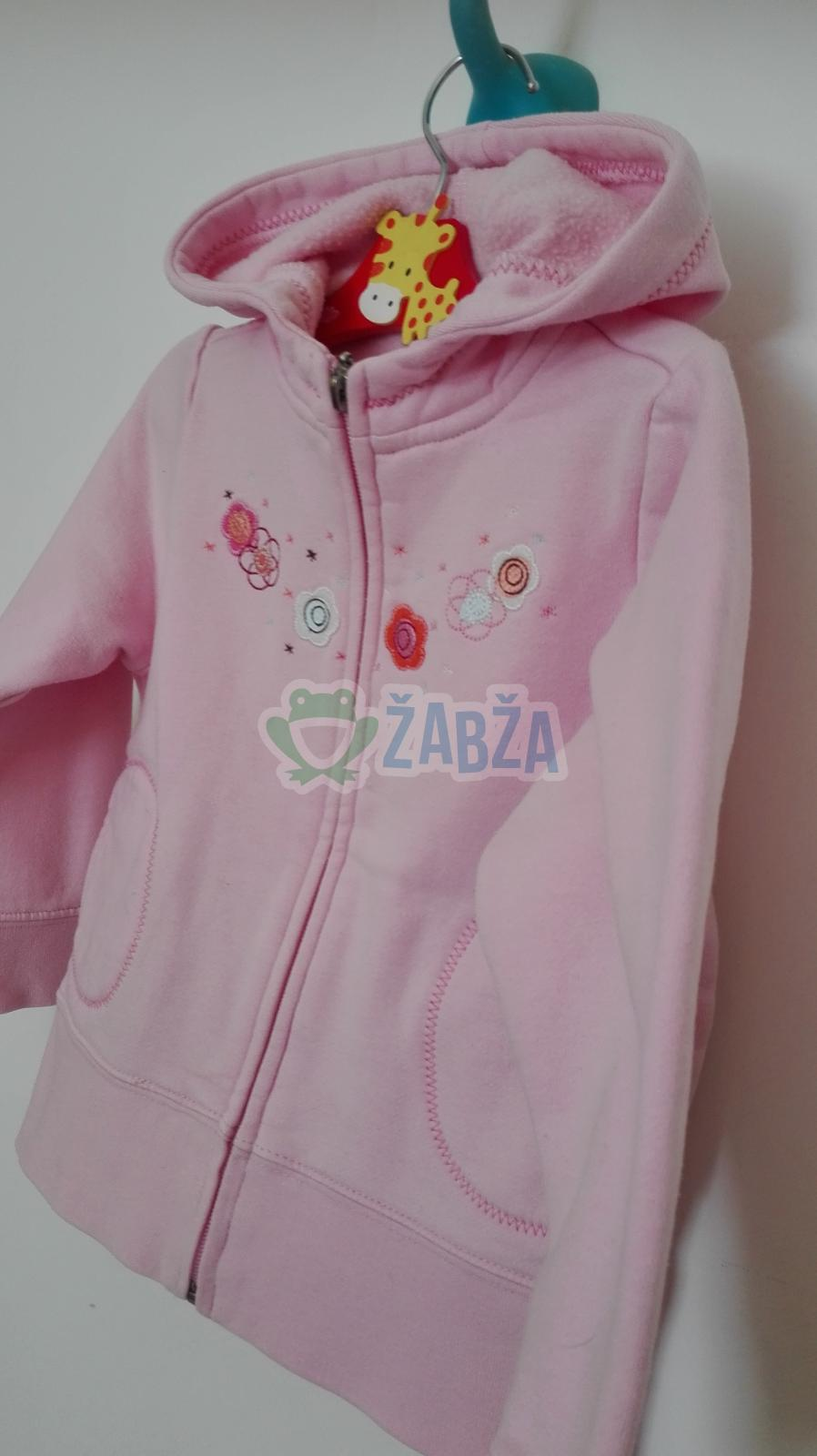 Mikina s kapucí na zip